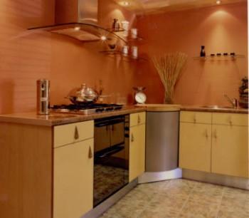 Cocinas peque as baldosas y decoraci n - Colores de pintura para cocinas modernas ...