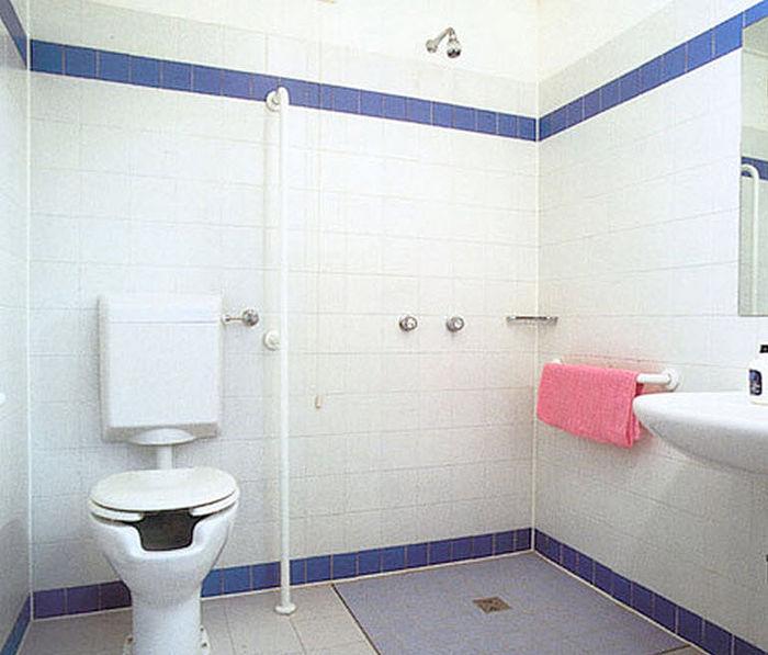 Accesorios de baños para minusválidos