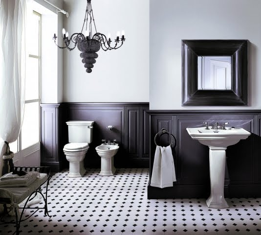 Heritage Tiles In Art Deco Style For Kitchens And Bathrooms: Baños Y Muebles Lujosos