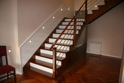 Barandales modernos - Escaleras de madera modernas ...