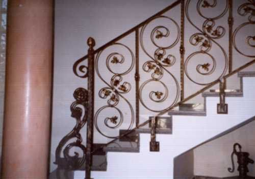 Barandas de escaleras para interiores Escaleras herreria para interiores