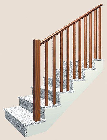Barandillas para escaleras interiores - Barandas de hierro modernas ...