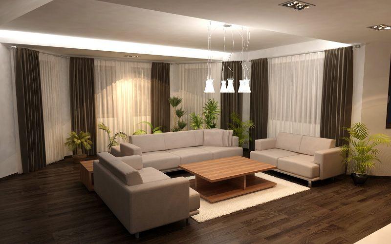 Fotos de casas modernas por dentro for Casa minimalista grande