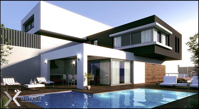 Fotos de modelos de casas modernas for Crear mi casa en 3d