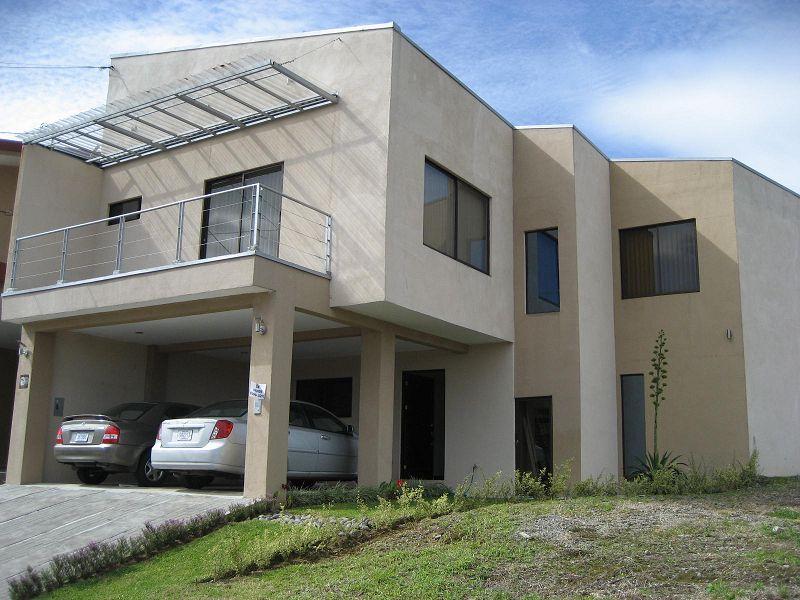 Fotos y planos de casas modernas for Modelos de construccion de casas modernas