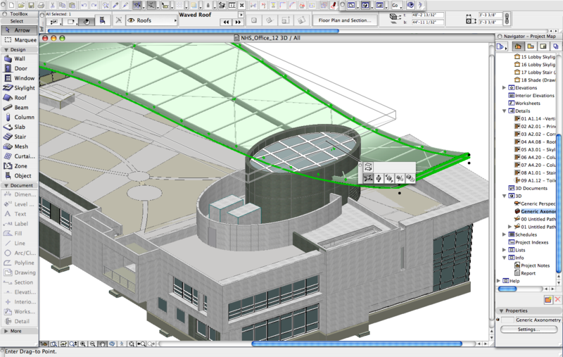 how to make a roof on archicad 20