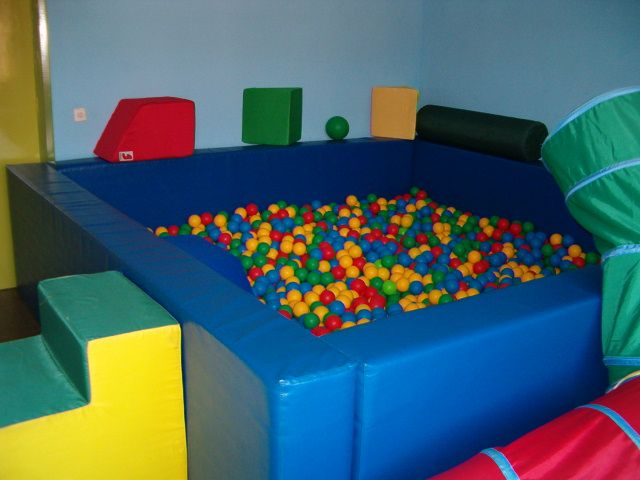 Piscina de bolas for Piscinas de plastico para ninos