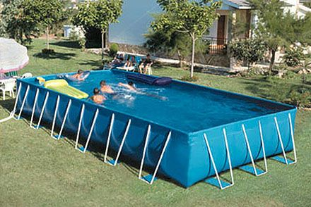 Piscina desmontable for Piscinas desmontables para patios pequenos