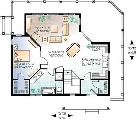 Planos de casas de 1 planta for Planos de casas para construir de una planta