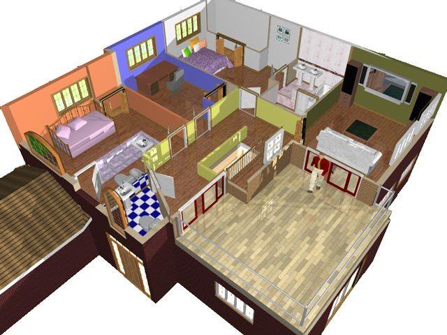 Planos de casas sencillos for Casa de una planta sencilla