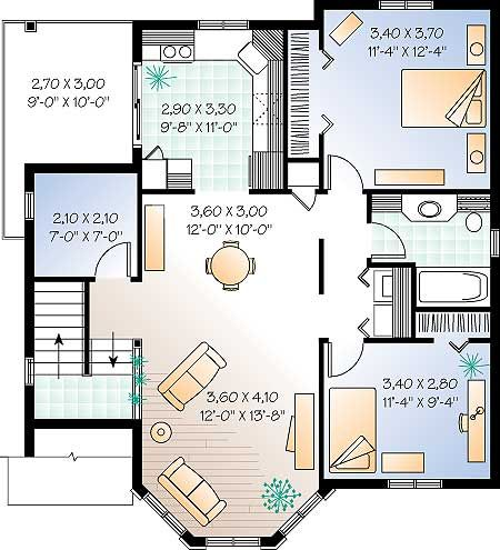 Planos de viviendas de dos pisos - Planos casas de una planta ...