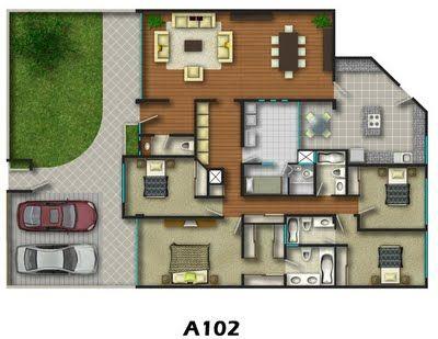 Planos de viviendas prefabricadas - Planos de viviendas unifamiliares ...