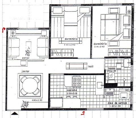 Planos de viviendas unifamiliar for Casa de una planta sencilla