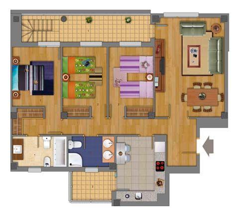 Planos de viviendas unifamiliares - Viviendas unifamiliares modernas ...