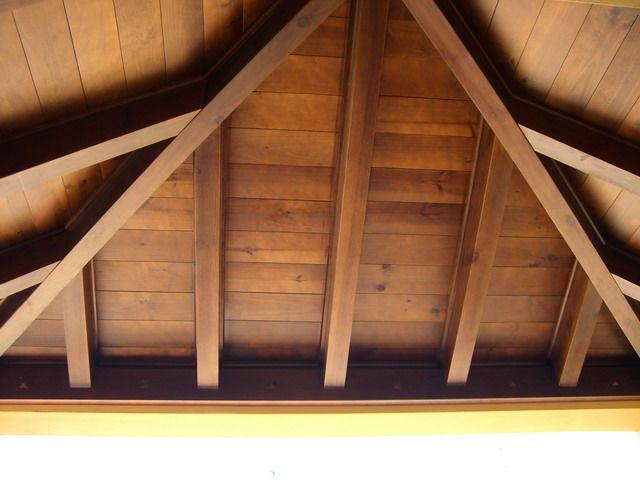 Algunas fotos de techos de madera - Techos falsos de madera ...