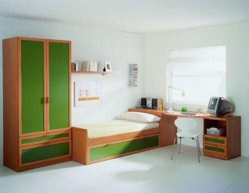 Closets para recamaras for Recamaras para jovenes minimalistas