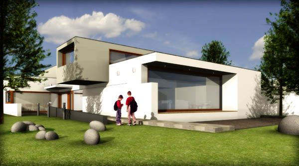 Como ampliar mi casa for Casa con piscina para dos personas