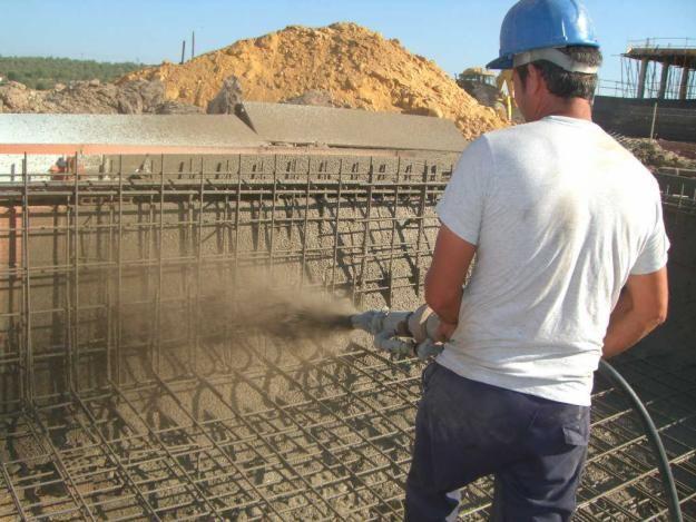 Video como hacer una pileta con hormigon proyectado for Como hacer una piscina de concreto