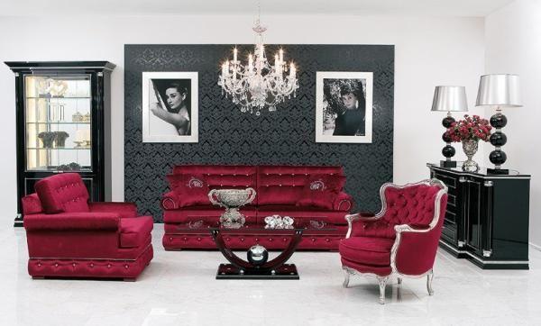 Comprar muebles para salas for Muebles rojos para sala