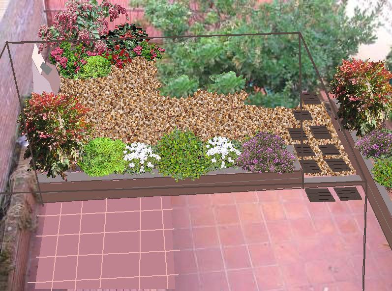 Contratar el dise o de mi jardin for Jardines pequenos para exteriores