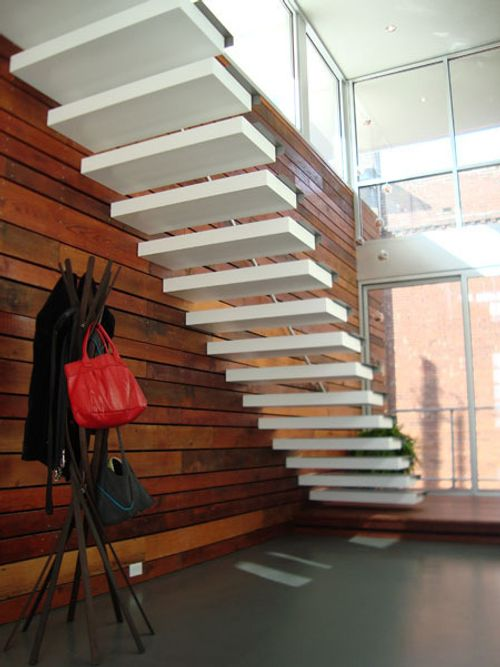 Dise o de escaleras de lujo para interiores for Ideas para escaleras de interior