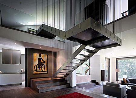 Diseño de escaleras interiores