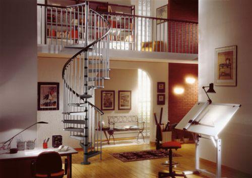 Escaleras de caracol para interiores