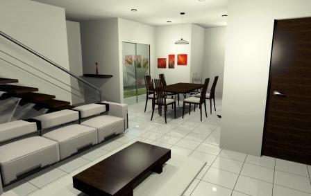 escaleras con pasamanos modernos On escaleras en la sala de casa