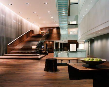 Escaleras de lujo con plataforma - Ver casas de lujo por dentro ...