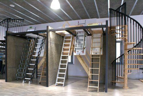 Escaleras retractiles con buenos precios for Escaleras de interior baratas