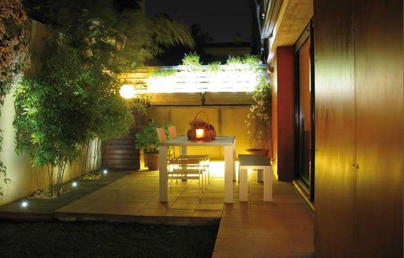 Fotos de iluminacion de jardines - Iluminacion led exterior jardin ...