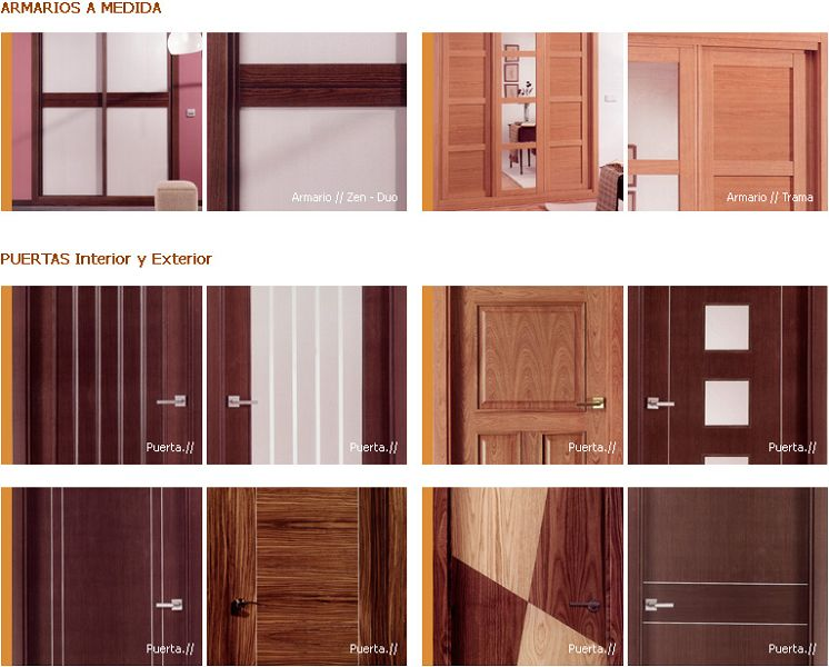 Fotos de modelos de puertas for Modelos de puertas de madera modernas