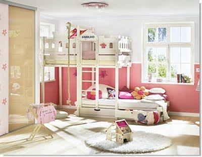fotos de recamaras infantiles completamente modernas. Black Bedroom Furniture Sets. Home Design Ideas