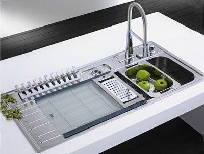 Fregaderos modernos for Disenos de cocinas en cuba