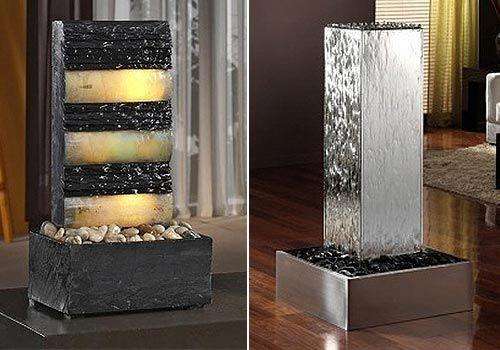 Fuentes decorativas para interiores - Placas decorativas para pared interior ...