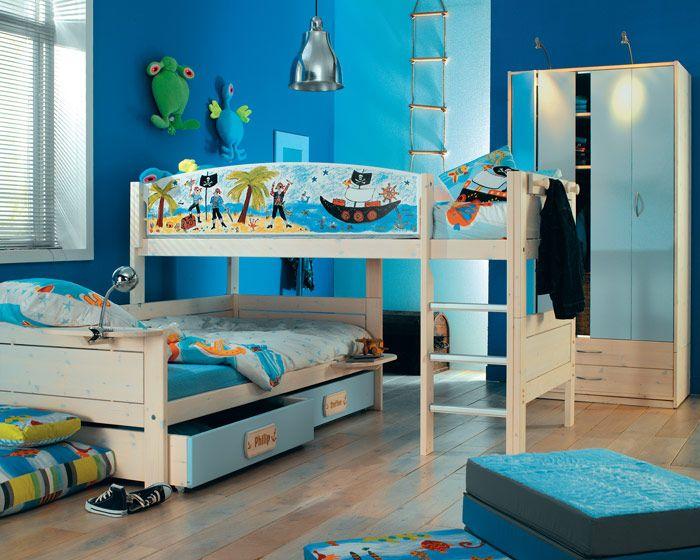 Habitaciones con literas for Decoracion de espacios para ninos