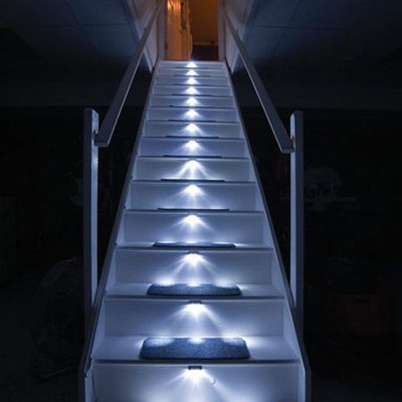 Lamparas para escaleras exteriores