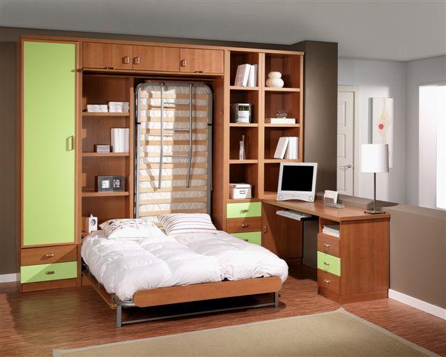 Los mejores muebles en madera - Dormitorios juveniles madera ...