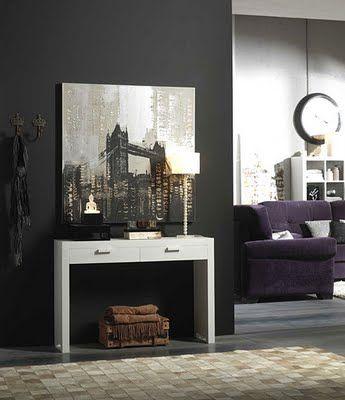 Muebles auxiliares y recibidores de lujo for Muebles para entradas y recibidores