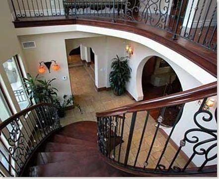 Pasamanos para escaleras interiores - Escaleras de madera para interior ...