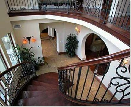 Pasamanos para escaleras interiores Escaleras herreria para interiores
