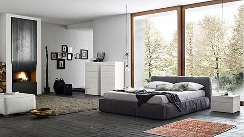 pintura para recamaras modernas. Black Bedroom Furniture Sets. Home Design Ideas