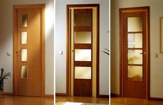 Precios para puertas interiores for Modelos de puerta de madera para casa