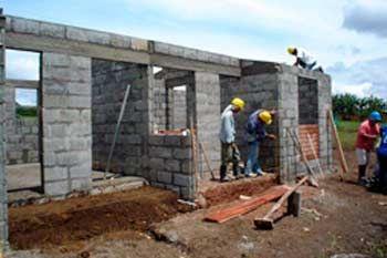 Proyecto de construccion de casas para familias damnificadas - Construccion de casas ...