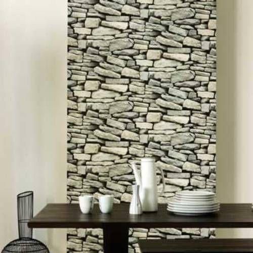 Revestimiento En Piedra Para El Interior De Tu Vivienda - Decoracion-con-piedras-en-interiores