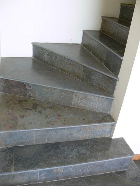 Revestimiento para escaleras for Como hacer una escalera de cemento