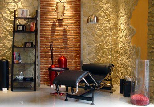 Revestimientos en piedra para interiores - Piedra para interior ...