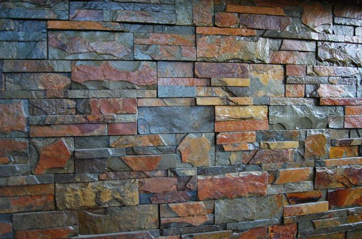 Revestimiento de piedra para paredes