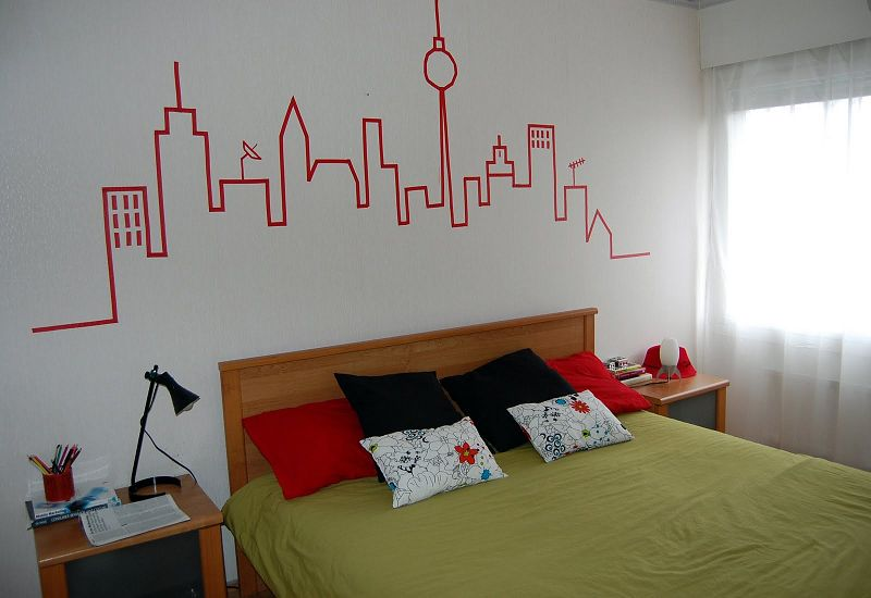Tecnicas populares para decorar las paredes