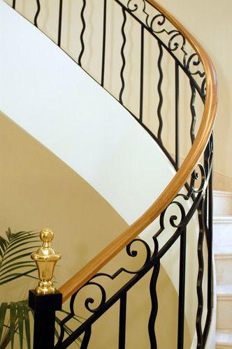 Barandilla De Escalera Para El Interior